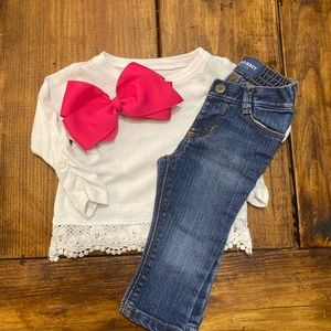Outfit and Bow